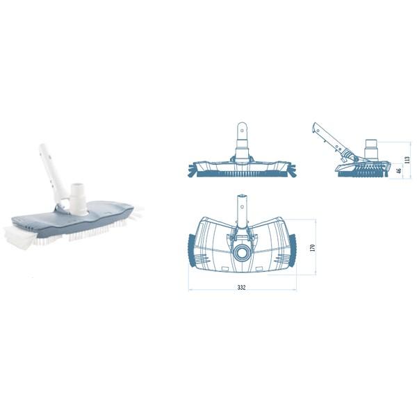 ASPIRATEUR OVAL GAMME SHARK ASTRALPOOL
