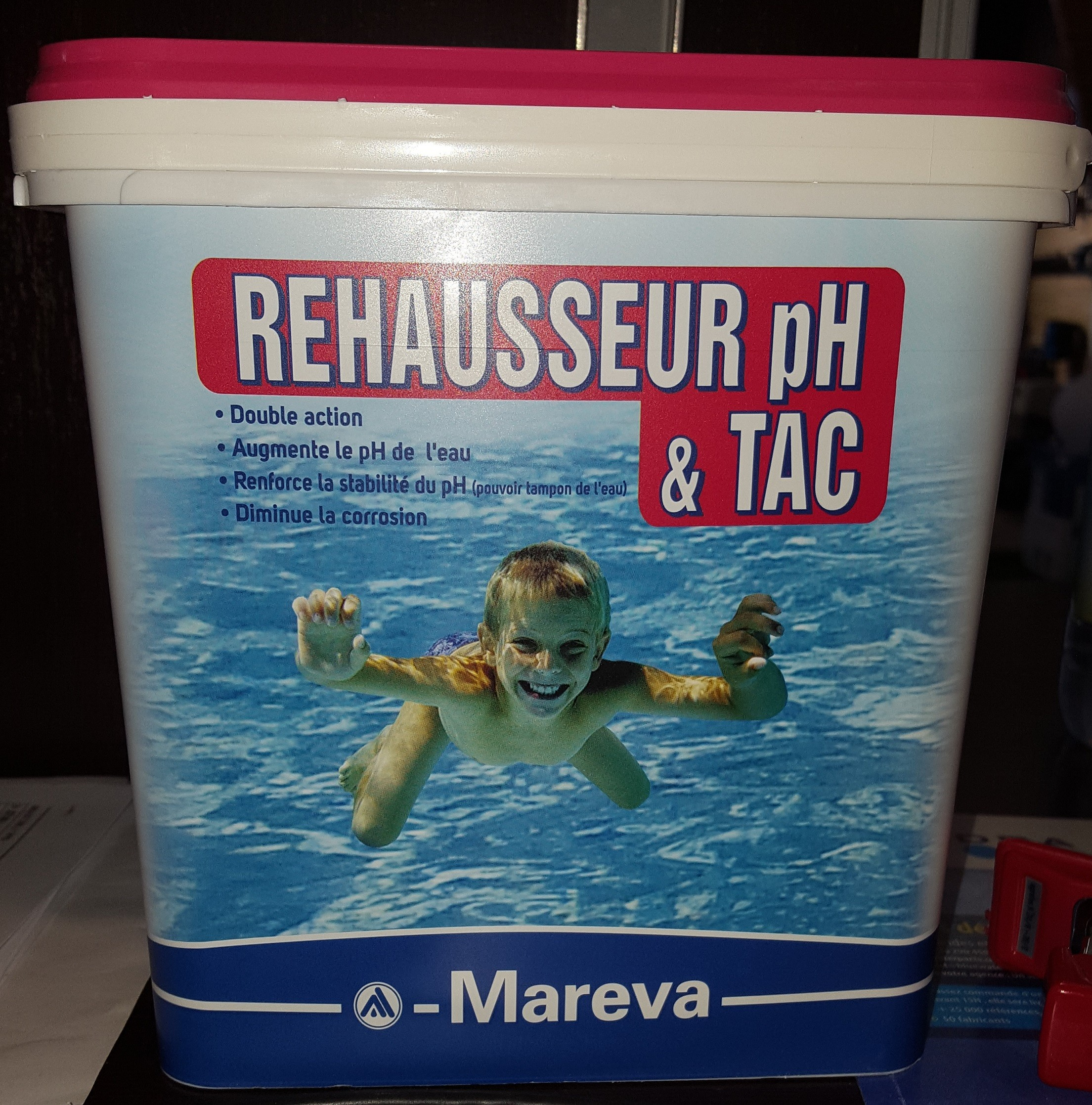 REVA PLUS REHAUSSEUR PH & TAC 5KG MAREVA