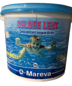 Chlore lent longue duree 250g