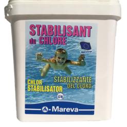 Stabilisant Chlore 4Kg Mareva