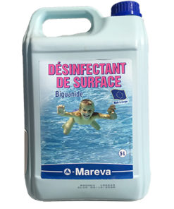 désinfectant surface biguanide mareva 5l