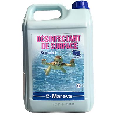 désinfectant surface biguanide mareva 5l