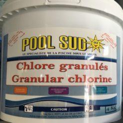 chlore choc pool sud