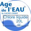 chlore liquide 20L