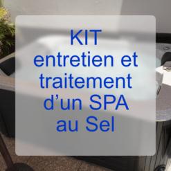 Kit entretien & traitement pour spa au sel