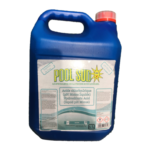 acide chlorhydrique 5L poolsud